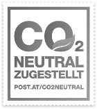 post.at CO2 Neutral Zugestellt