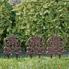 Garten-Ornament 3er Set Romagny