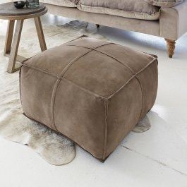 Hocker Salona taupe