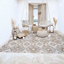 In- & Outdoor-Teppich Mellory beige
