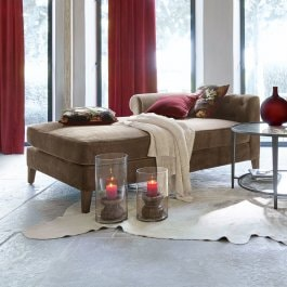 Chaiselounge Helchteren taupe