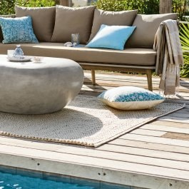 In- & Outdoor-Teppich Stoica beige